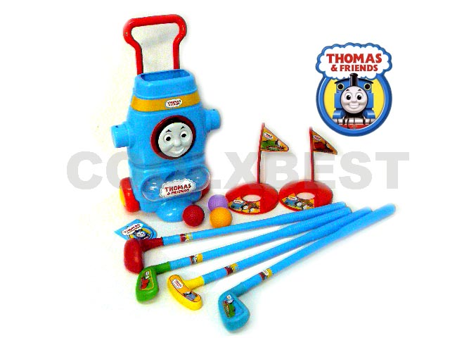 New Thomas The Tank Amp Friends Toy Golf Set For Kids Great